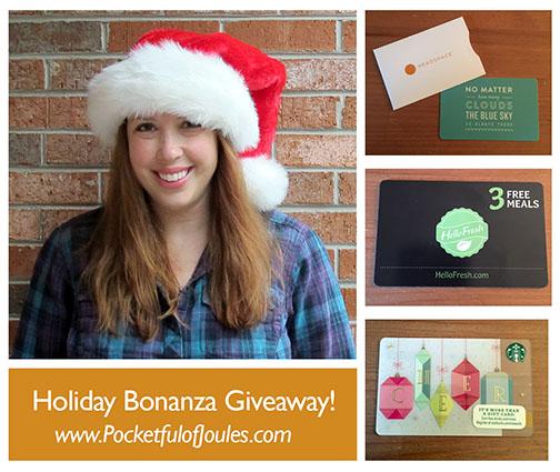 Holiday Giveaway Bonanza - Pocketful of Joules