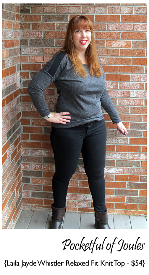 Stitch Fix Review - Laila Jayde Whistler Relaxed Fit Knit Top - Pocketful of Joules