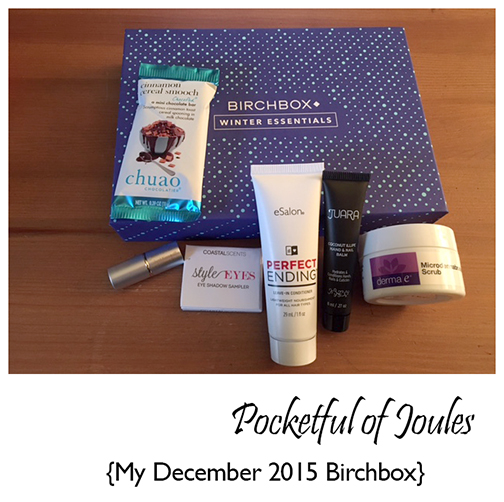 December 2015 Birchbox