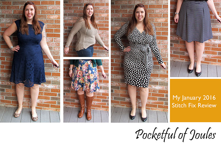 January 2016 Stitch Fix Review - Pocketful of Joules