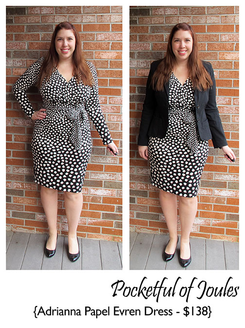 Stitch Fix Review - Adrianna Papell Evren Dress - Pocketful of Joules