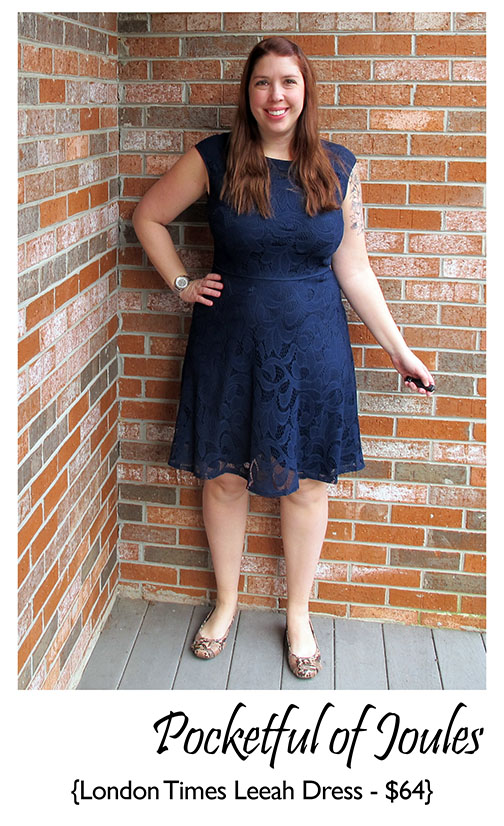 Stitch Fix Review - London Times Leeah Dress - Pocketful of Joules
