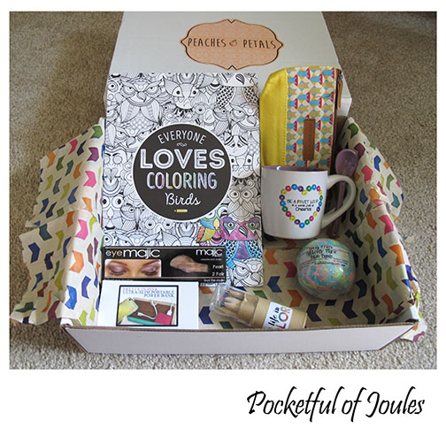 March Peaches and Petals box review - Pocketful of Joules