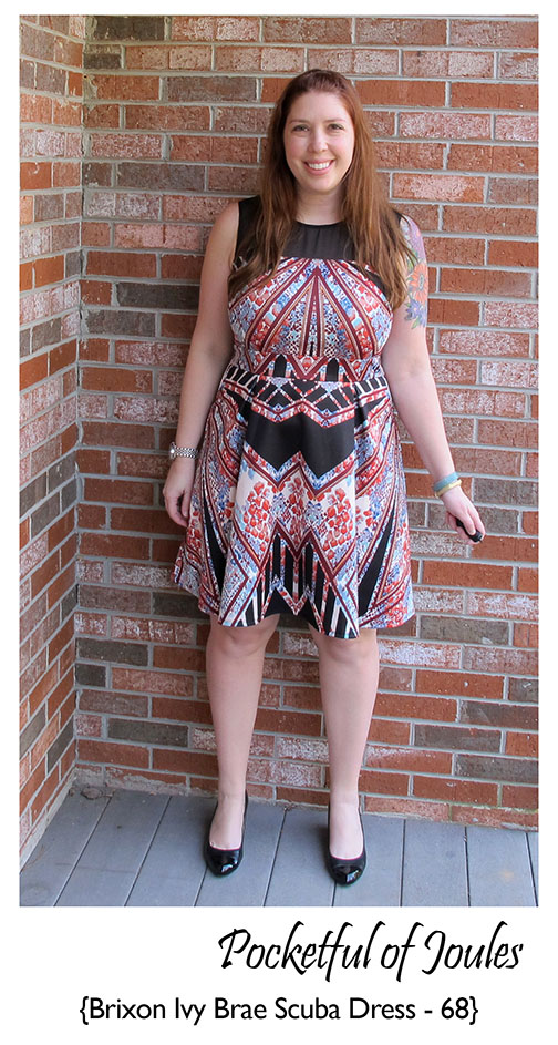 Stitch Fix Review - Brixon Ivy Brae Scuba Dress - Pocketful of Joules