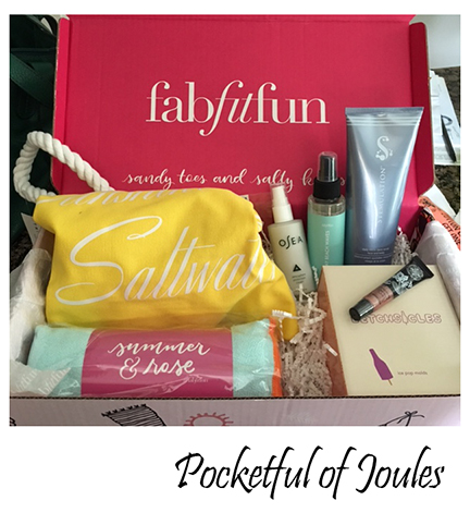 Fab Fit Fun - Summer box 2 - Pocketful of Joules