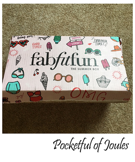 Fab Fit Fun - Summer box - Pocketful of Joules