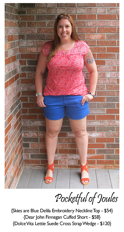 July Stitch Fix Review - 2 - Pocketful of Joules