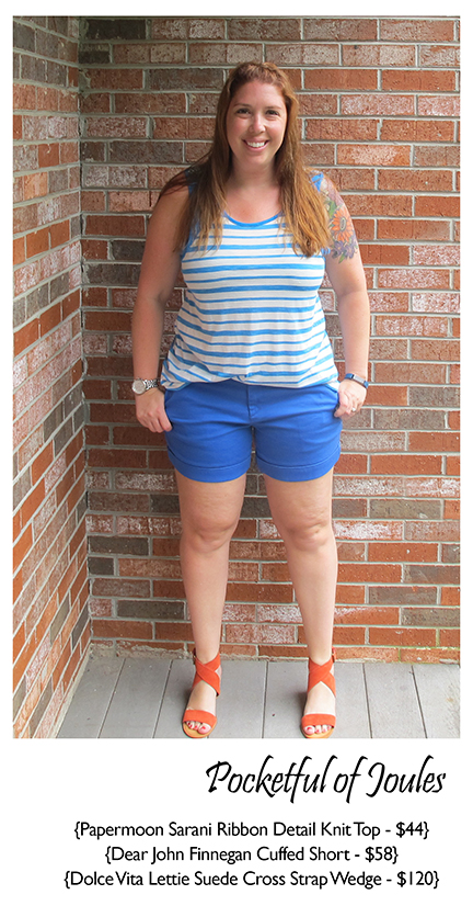 July Stitch Fix Review - Pocketful of Joules