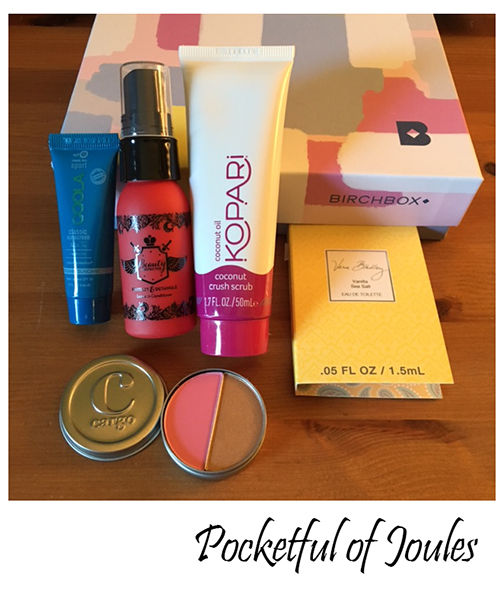 May birchbox reveal - Pocketful of Joules