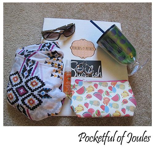 Peaches and Petals - June box