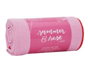 summer and rose towel