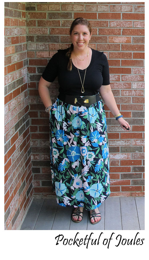 Me in Maxi skirt - Pocketful of Joules