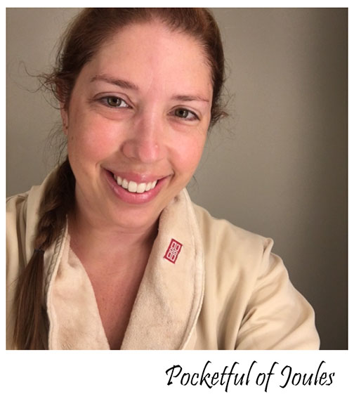 Red Door Spa - after facial - Pocketful of Joules
