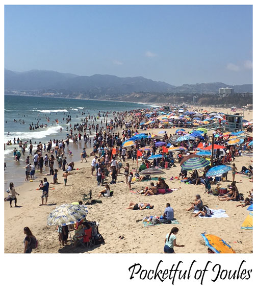 Santa Monica Pier view - Pocketful of Joules